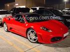 Siêu xe Ferrari F430 mui trần hàng hiếm tái xuất trên phố Sài thành