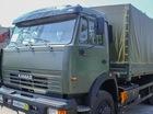 Xe quân sự Kamaz mới tinh đã về cảng