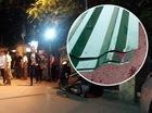 Hà Nội: Xe chở tôn trôi tuột trên cầu, người phụ nữ ngồi chờ xe buýt bị cứa cổ tử vong