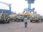 Dàn xe chuyên dụng IAG 4x4 Guardian Tactical về Việt Nam