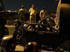 Tai nạn liên hoàn, Toyota Camry bị đâm bẹp dúm