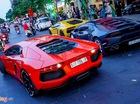 Dàn siêu xe triệu đô của đại gia trên phố đi bộ Nguyễn Huệ