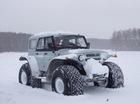 Nga chế xe địa hình từ xe UAZ cổ