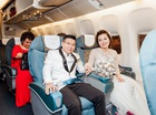 Đám cưới tiền tỷ rước dâu bằng máy bay của cô gái Nam Định
