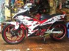Yamaha Exciter camo đỏ độc nhất của biker An Giang