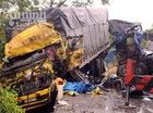 Tai nạn liên hoàn giữa 2 xe tải và xe container, 1 người chết