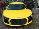Audi R8 V10 Plus 2016 khoác áo mới vàng chanh nổi bật