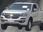 Chevrolet Colorado nâng cấp bất ngờ lộ diện trần trụi
