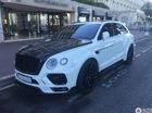 SUV siêu sang Bentley Bentayga độ Mansory bị bắt gặp trên phố