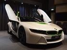 BMW i8 màu trắng-xanh cốm lạ mắt cho các đại gia Trung Đông