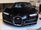 Xem cảnh siêu phẩm Bugatti Chiron được chuyển từ xe tải vào đại lý