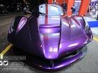 """Ngắm Ferrari LaFerrari màu tím """"chơi trội"""" của Tiểu vương Malaysia"""
