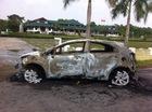 Thái Nguyên: Kia Rio mới đăng ký 3 ngày đã cháy rụi
