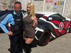 """Sao phim khiêu dâm lái siêu xe Nissan GT-R độ """"khủng"""" bị cảnh sát """"hỏi thăm"""""""