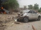 Máy bay chiến đấu MiG-27 bị rơi, đâm vào đuôi Tata Safari