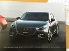 Rò rỉ hình ảnh của Mazda3 2017 với thiết kế thay đổi nhẹ
