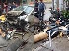 """Hà Nam: """"Ô tô điên"""" đâm hàng loạt xe máy, 1 người bị thương"""