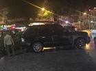 Hà Nội: Gây tai nạn, người lái Range Rover đánh tài xế taxi