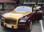 Bắt gặp Rolls-Royce Ghost mạ vàng độc nhất Việt Nam tại Hà Nội