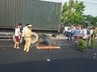 Hà Nam: Đâm vào xe container, thanh niên đi xe máy tử vong tại chỗ