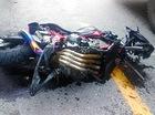 Lái Honda CB650F gặp tai nạn, một nam học sinh tử vong
