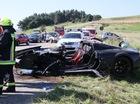 """""""Tinh hoa Anh quốc"""" Noble M600 nát bét sau tai nạn"""