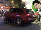 Ô tô tiền tỷ Acura MDX của nam ca sỹ Quách Thành Danh đâm 4 xe máy