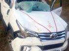 Toyota Fortuner thế hệ mới nát bét trong tai nạn