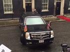 Xe limousine chống đạn của Tổng thống Obama quay đầu hoàn hảo trên phố