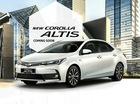 Hé lộ thông số của Toyota Corolla Altis 2017 phiên bản Đông Nam Á
