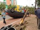 Vũng Tàu: Toyota Corolla Altis rơi từ trên cây xuống và lật ngửa, 1 người bị thương