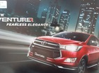 Toyota Innova Venturer sắp ra mắt tiếp tục lộ diện