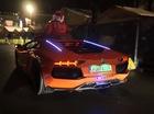 Siêu xe Lamborghini Aventador hóa thành chú tuần lộc của ông già Noel