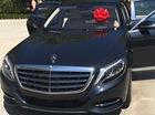 """Rapper mang dòng máu Việt mua Mercedes-Maybach S600 tặng em cô Kim """"siêu vòng ba"""""""