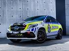 Mercedes-AMG GLE63 S Coupe tham gia đội ngũ xe cảnh sát