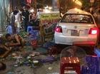 Hải Phòng: Xe tập lái lao vào quán ốc mới khai trương, 4 người bị thương