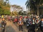 """Hàng trăm biker Việt """"phượt"""" sang Thái Lan"""