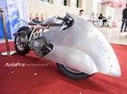 Độc đáo với xế cổ BMW R100 độ như phi thuyền tại Hà Nội