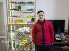 Đầu năm xông nhà cậu học sinh 17 tuổi với thú chơi mô hình tĩnh
