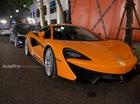 Vừa về nước, McLaren 570S đã dạo phố đêm Hà Nội
