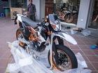 Đập hộp mô tô địa hình KTM 690 SMC R 2017 giá 469 triệu tại Việt Nam