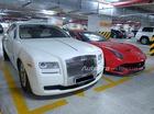 """Khám phá hầm để xe """"khủng"""" như Dubai giữa lòng Hà Nội"""