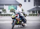 Cận cảnh Yamaha Exciter 150 độ đa sắc màu tại Hà Nội