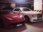Hà Nội: Ferrari và Rolls-Royce chung chủ, biển gần giống hệt nhau