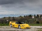 """""""Ngựa già"""" Ferrari F50 nóng bỏng với bộ áo vàng rực"""