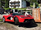 Bộ đôi siêu xe Ferrari siêu hiếm gặp nạn khi tham gia hành trình siêu xe