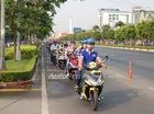 Gần 50 chiếc Honda Air Blade hội tụ tại Sài thành
