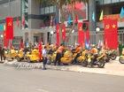 Hàng chục mô tô khủng dẫn đoàn đua xe đạp tại Sài thành