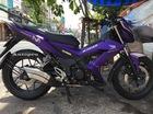 """Sài Gòn: """"Xế đua"""" đường phố Honda Sonic 150R 2015 khoác áo tím mộng mơ"""