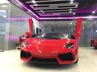 Siêu xe Lamborghini Aventador LP700-4 mui trần tái xuất tại Sài thành